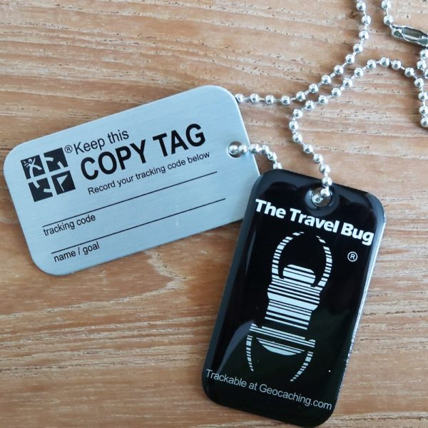 QR Travel Bug Black