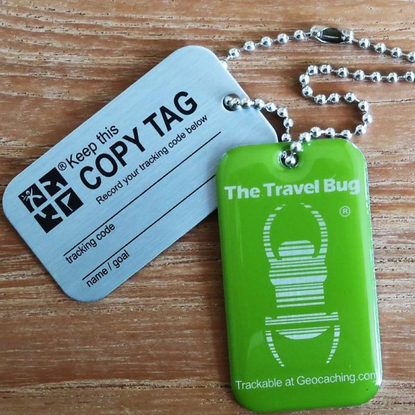 QR Travel Bug Green