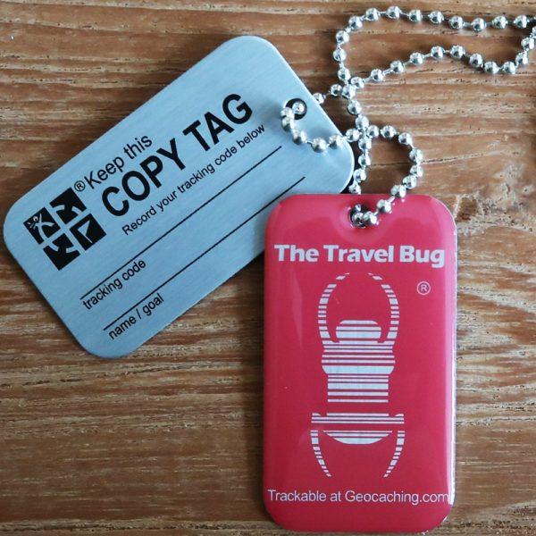 QR Travel Bug Pink