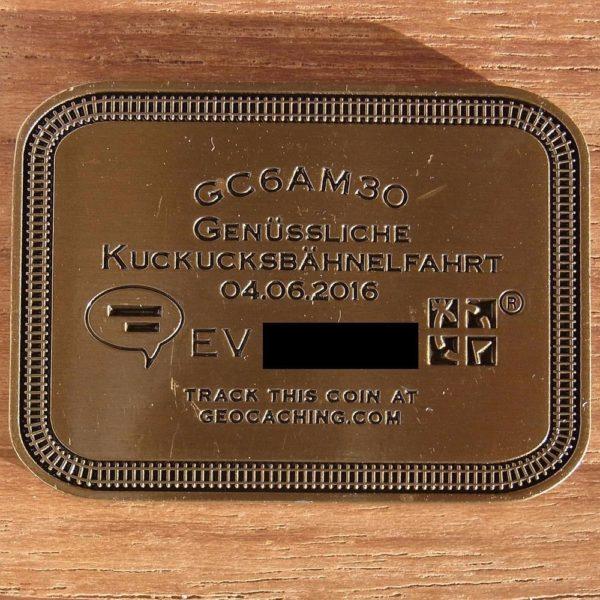 eisenbahn gold b geocoin