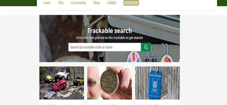 Geocaching HQ – Update der Trackable Webseite.