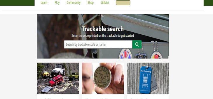 Geocaching HQ – Update der Trackable Webseite.