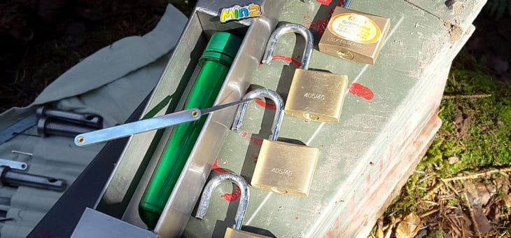 ist Lockpicking eines Geocache legal?