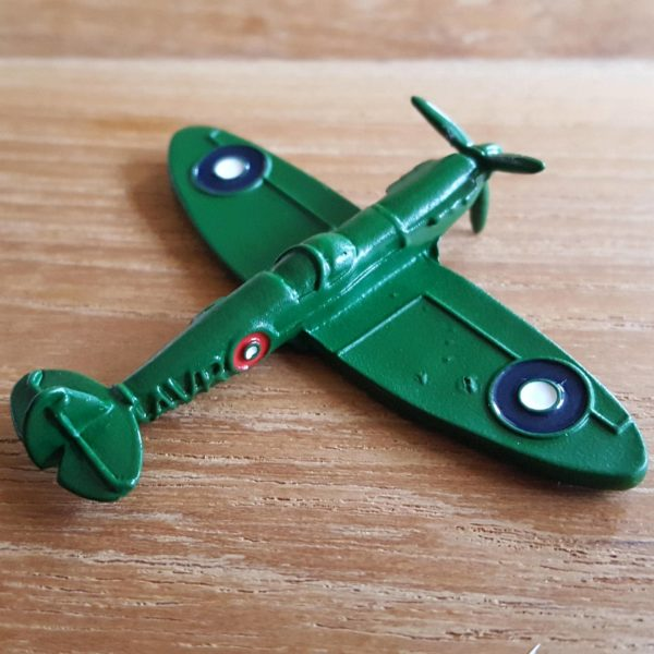 Avroair Spitfire Geocoin Grün
