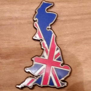 Britain Geocoin Front