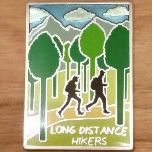 Hikers Geocoin back