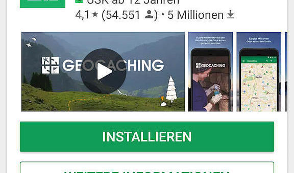 Geocaching Tools und App's für Android