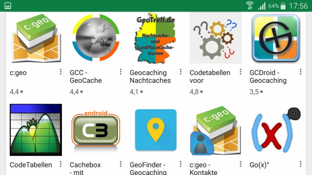 Geocaching APP Android