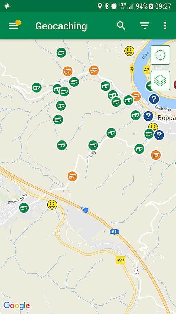 Geocaching Tools und App's für Android - GCinfo.de on