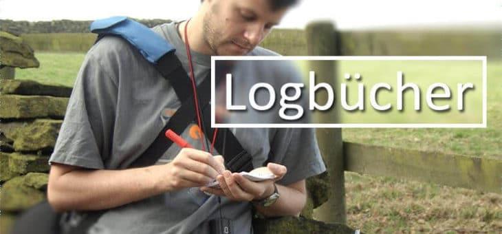 Geocaching Logbücher