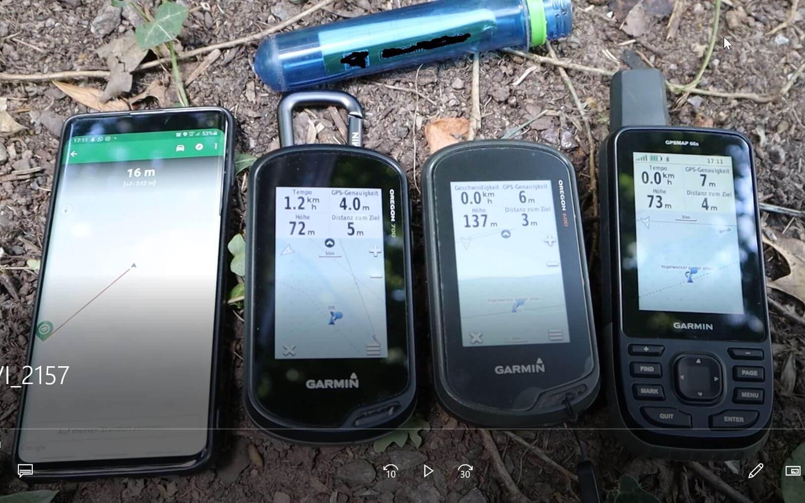 GPS Genauigkeit