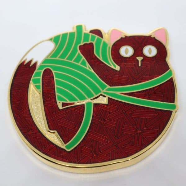Cheerful Cat Geocoin